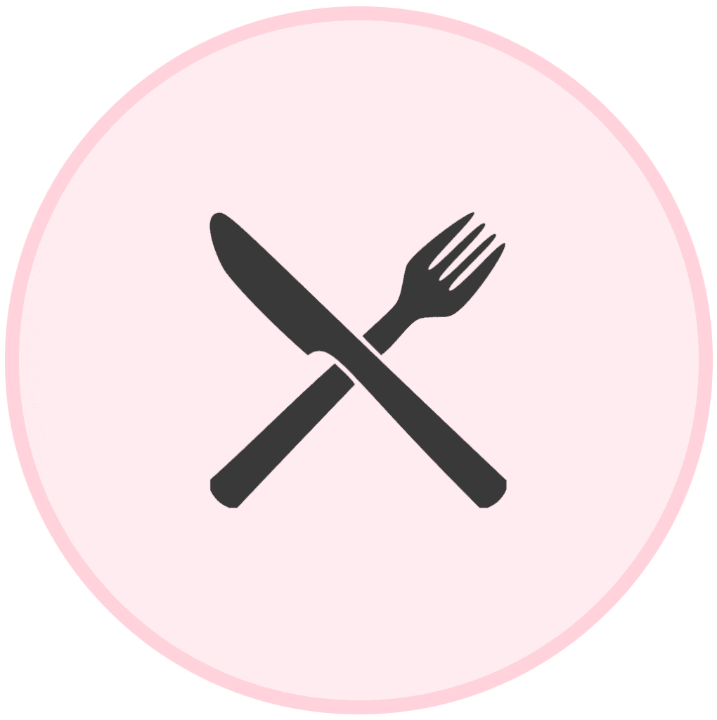 The Fitt Mum Project - knife and fork icon
